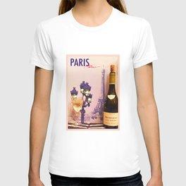 A glass of Meursault T-shirt