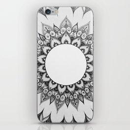 Mandala Zentangle iPhone Skin