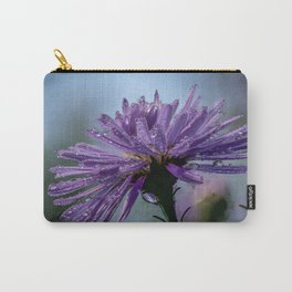 Wet aster in the garden Carry-All Pouch