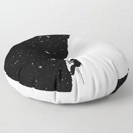 Night climbing Floor Pillow