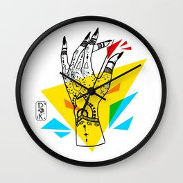 Crunch Time Wall Clock