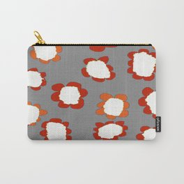 Daisies on Putty pattern Carry-All Pouch