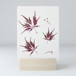 Autumn Acer Mini Art Print