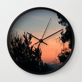 Dawn From My Window Wall Clock
