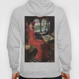 "John William Waterhouse - ""I am half sick of shadows"" said the Lady of Shalott Hoody"
