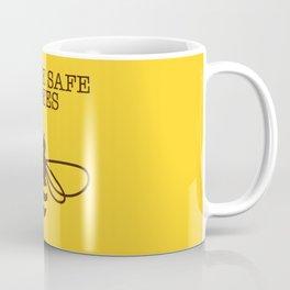 Be safe - save bees Coffee Mug
