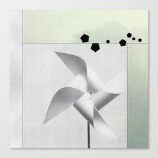 Du vent Canvas Print