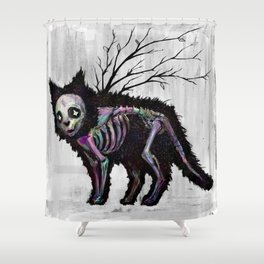Lost kitty Shower Curtain
