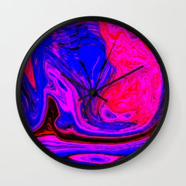 abstract contrast Wall Clock