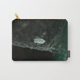 feather on spider web Carry-All Pouch