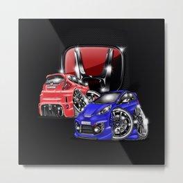 Honda world  Metal Print
