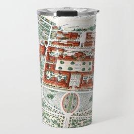 STANFORD CALIFORNIA University map Travel Mug
