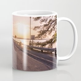 Sunset Road Coffee Mug