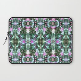 Modern tie dye watercolor abstract rose pattern art Laptop Sleeve