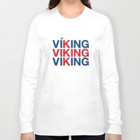 viking Long Sleeve T-shirts featuring VIKING by eyesblau