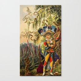 THE FOOL MAJOR ARCANA Canvas Print