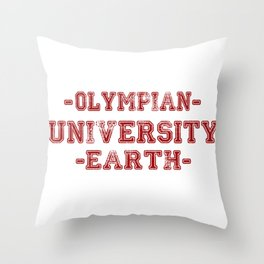 O.U.E Throw Pillow