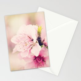 Pink Pear Blossoms 1 Stationery Cards