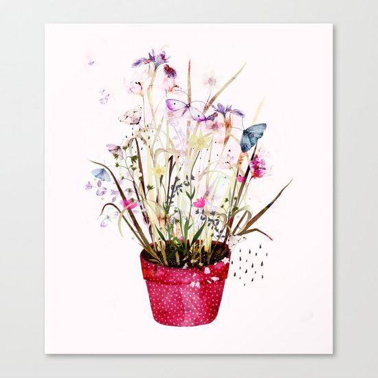imagined plant Canvas Print