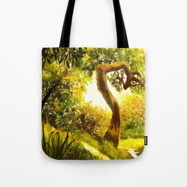 Mind's Eye - Light Tote Bag