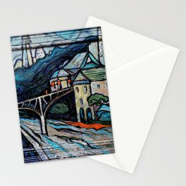 Newtown of the Future Stationery Cards