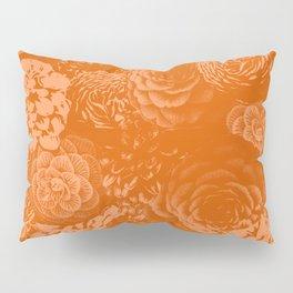 Moody Florals in Orange Pillow Sham
