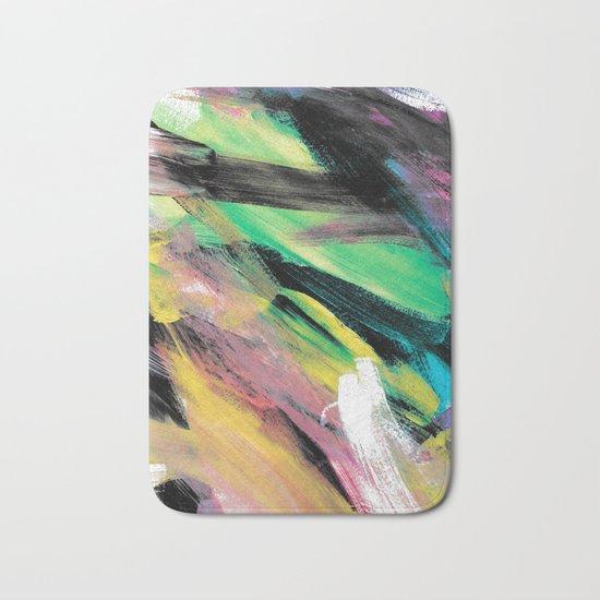 Abstract Artwork Colourful #1 Bath Mat