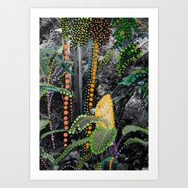 Among the Foliage Art Print
