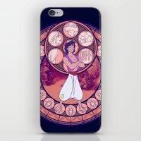 aladdin iPhone & iPod Skins featuring Aladdin by NicoleGrahamART