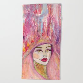Head in the Clouds Beach Towel