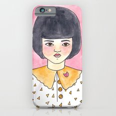 Pink Brooch Slim Case iPhone 6s