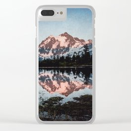 End of Days - Nature Photography Clear iPhone Case