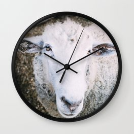Hello There Wall Clock