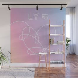 BTS - Love Yourself Wall Mural