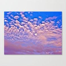 Strawberry Skies Canvas Print