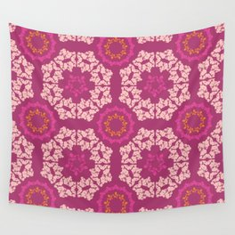 Moroccan Textured Tile Wall Tapestry