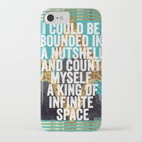 hamlet iPhone & iPod Cases featuring Hamlet Quote by Kitch&Bold