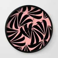 japanese Wall Clocks featuring Japanese by Kayla Cole