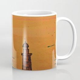 Good Morning / New and Old Lighthouse Fuencaliente La Palma Coffee Mug