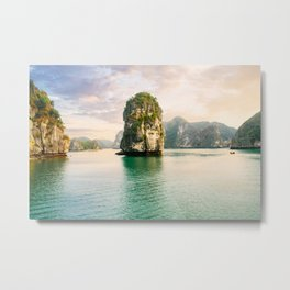 Halong Bay Fine Art Print  • Travel Photography • Wall Art Metal Print