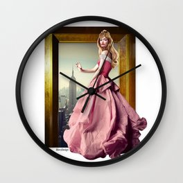 Fables Project - Aurora Wall Clock