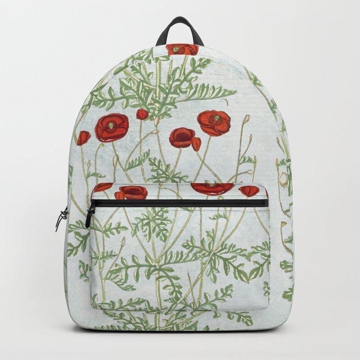 A reminder of past poppies Backpack