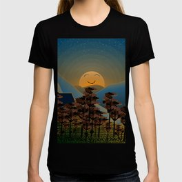 Landscape sunset T-shirt