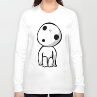kodama Long Sleeve T-shirts featuring Kodama! by BlondieAu