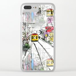 Main Street Clear iPhone Case