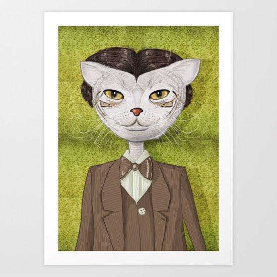 Mr. Jones Art Print