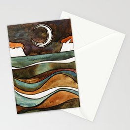 The Moon II Stationery Cards