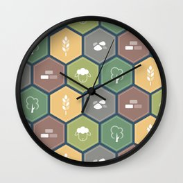 Economics Wall Clock