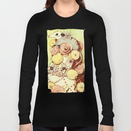 Cake Opossum Long Sleeve T-shirt