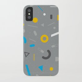Almost Friday - pattern grey iPhone Case